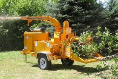 Heavy Equipment 12 Wood Chipper Rental In Nh Ma Grand Rental Station