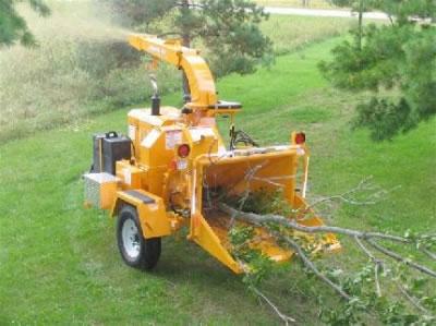 Heavy Equipment 9 Wood Chipper Rental In Nh Ma Grand Rental Station