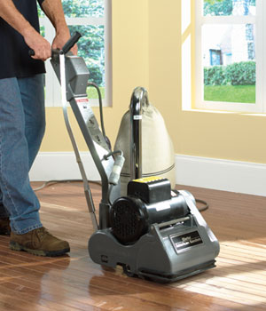 Home Care Hardwood Floor Drum Sander With Edger Rental In