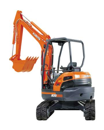 Heavy Equipment Mini Excavator W/thumb Rental in NH & MA