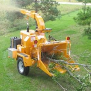 "9"" Wood Chipper rental nh"
