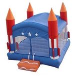 Missile Bounce House/Ride rental nh