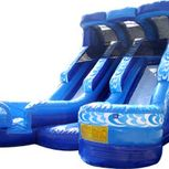 18' Double Lane Inflatable Water Slide rental nh